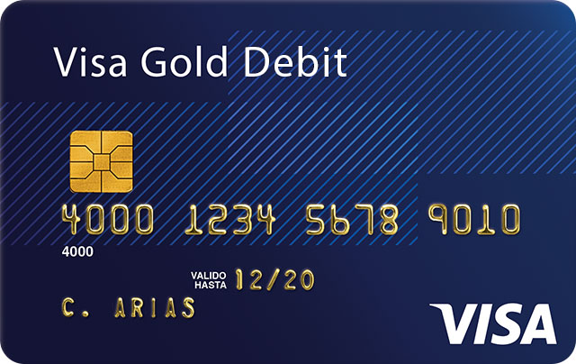 Visa Debit Gold Card