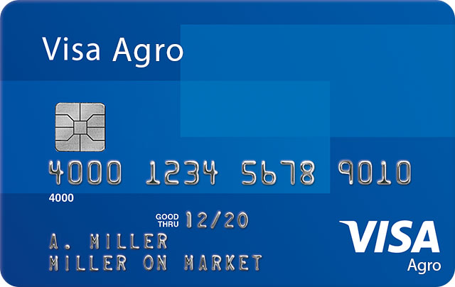 Visa Agro Credit Card