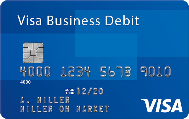 Visa Business Debit Card